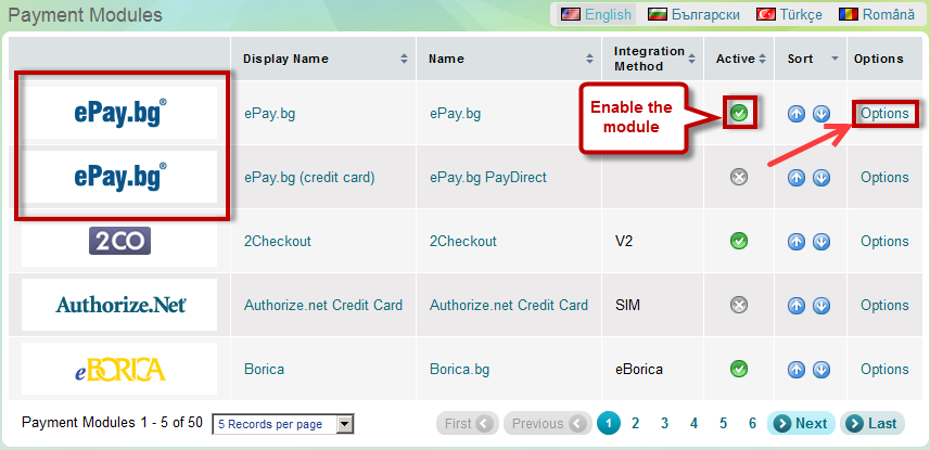 ePay.bg; ePay.bg PayDirect - credit card payment